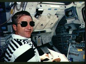 Astronaut in Sunglasses