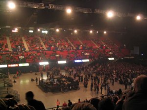 Filling Up The Arena