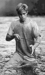 Brad Pitt Fishing mmmm
