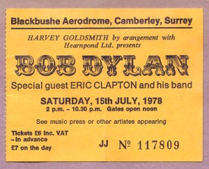 Blackbushe Ticket