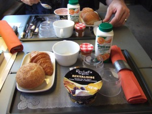 Breakfast on the Eurostar