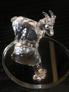 Project 365 Day 10 - My Crystal Goat