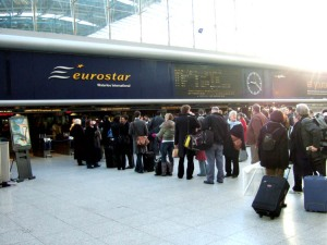 Project 365, Day 11 - Eurostar Terminal - Next Stop Paris
