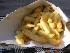 Project 365, Day 15 - My Last Chips