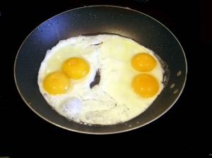 Them Eggs Cooking