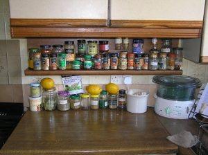 My Spice Shelf