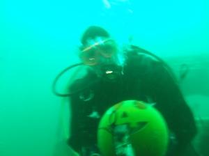 Underwater Pumpkin 3