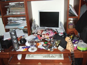Eldest Son - His Desk