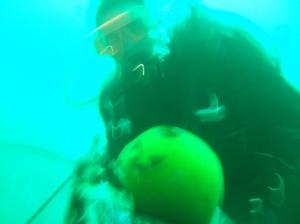 Underwater Pumpkin 2
