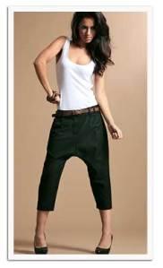 Tailored Harem Pants