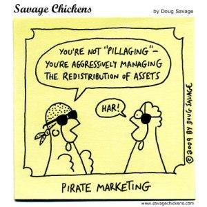 Marketing Speak Does NOT Rule OK?